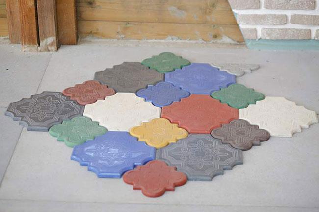 אריח בטון - בריק אנטיק - חיפוי קירות