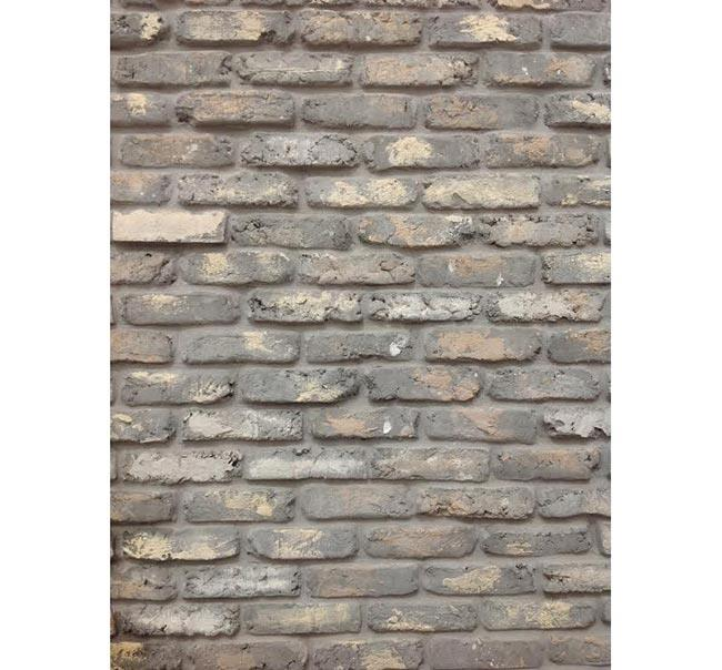 חיפוי קיר אפור - בריק אנטיק - חיפוי קירות