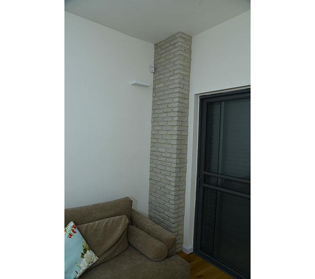 קיר בריקים דקורטיבי - בריק אנטיק - חיפוי קירות