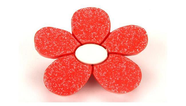 ידית פרח אדום - אבנר`ס קולקשיין