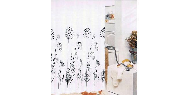 וילון פרחים שחורים - אבנר`ס קולקשיין
