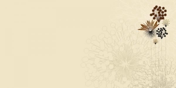 הדפס דוגמת פרחים לזכוכית - א.ר. שיווק