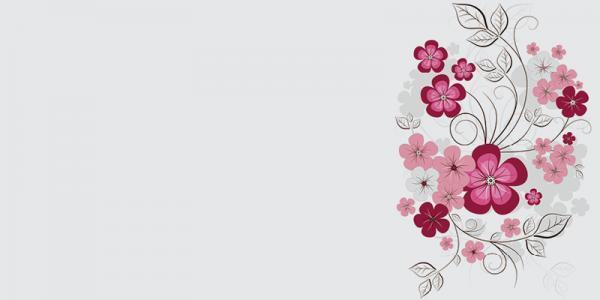 הדפסים לזכוכית פרחים צבעוניים - א.ר. שיווק