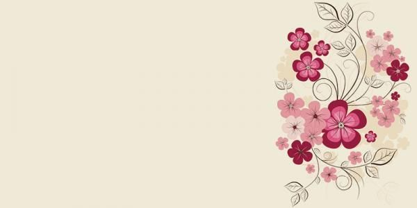 פרחים מאוירים על זכוכית - א.ר. שיווק