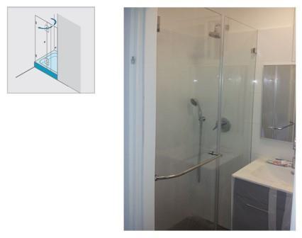 מקלחון חזית - א.ר. שיווק