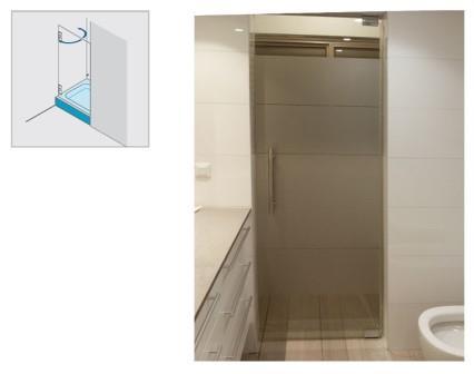 מקלחון זכוכית - א.ר. שיווק