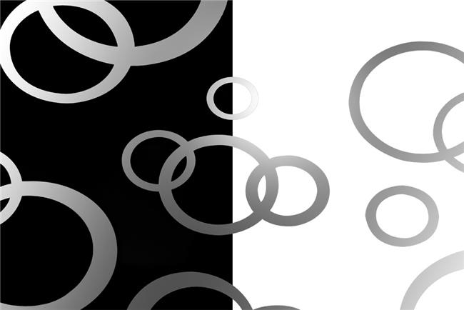 זכוכית מעוצבת עיגולים - א.ר. שיווק