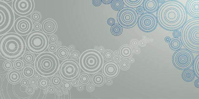 זכוכית מודפסת עיגולים אפורים - א.ר. שיווק
