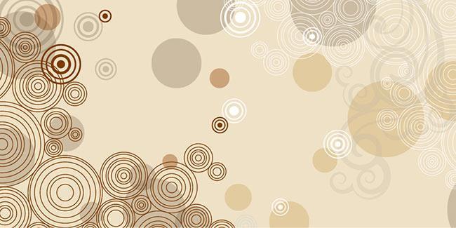 זכוכית מודפסת מעוצבת עיגולים - א.ר. שיווק
