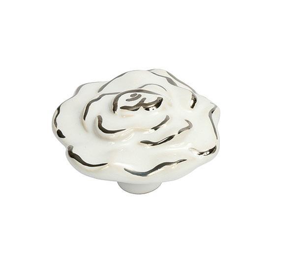 ידית ורד לבן כסוף - א.ר. שיווק