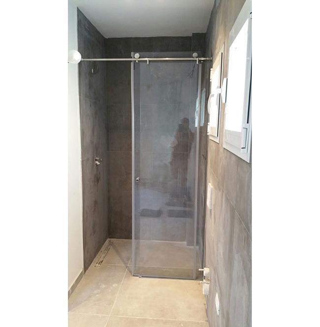 מקלחון חזית זכוכית - א.ר. שיווק