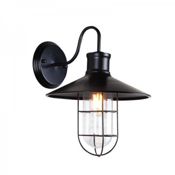 מנורת קיר פעמון רחב - אופק תאורה חוץ ופנים