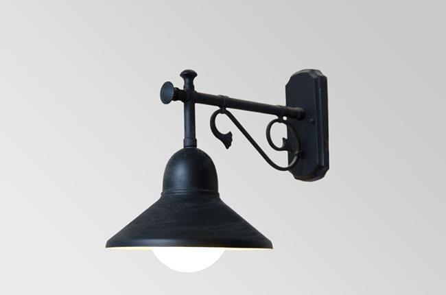 מנורת קיר פעמון מרס - אופק תאורה חוץ ופנים
