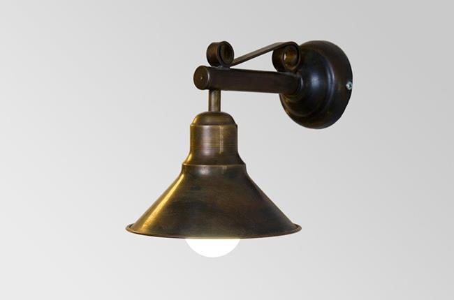 מנורת קיר פעמון מרס קטן - אופק תאורה חוץ ופנים