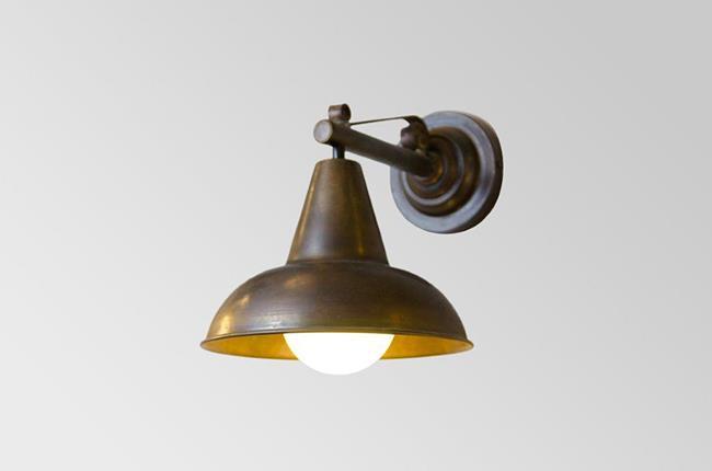 מנורת קיר פעמון דגם 3 - אופק תאורה חוץ ופנים