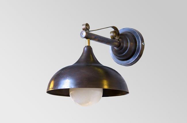 מנורת קיר פעמון דגם 7 - אופק תאורה חוץ ופנים