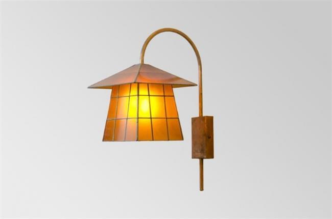 מנורת קיר פגודה כתומה  - אופק תאורה חוץ ופנים