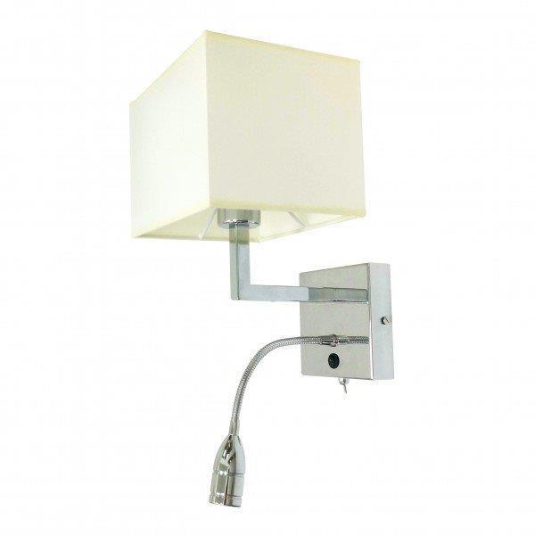 מנורת קיר אהיל מרובע - אופק תאורה חוץ ופנים