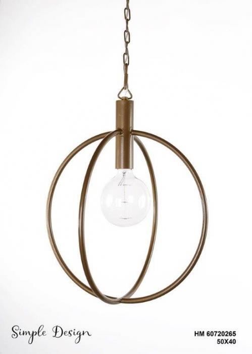 מנורה תלויה HM60720265 - אופק תאורה חוץ ופנים
