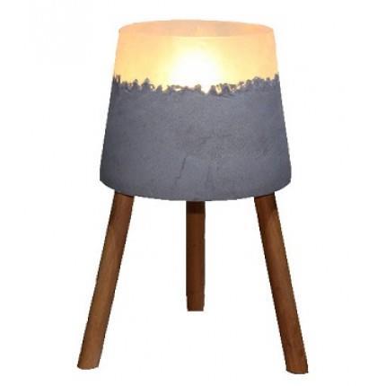 מנורת שולחן בטון - אופק תאורה חוץ ופנים