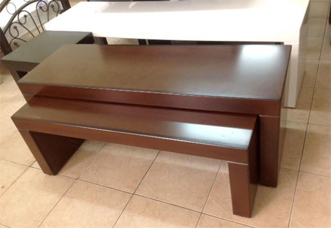 שולחן ציני כפול - עמנואל רהיטי המזרח