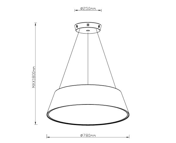 מנורה דגם טורו P72 - טכנולייט
