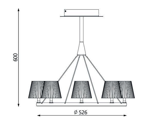 מנורה דגם טמפו 8 - טכנולייט