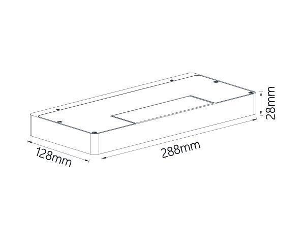 תאורה דגם שלפי סלוט XL - טכנולייט