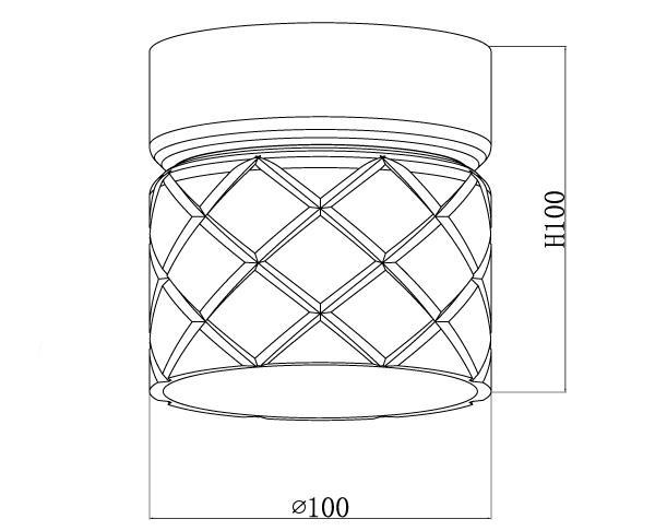 צמוד תקרה דגם 56971 - טכנולייט