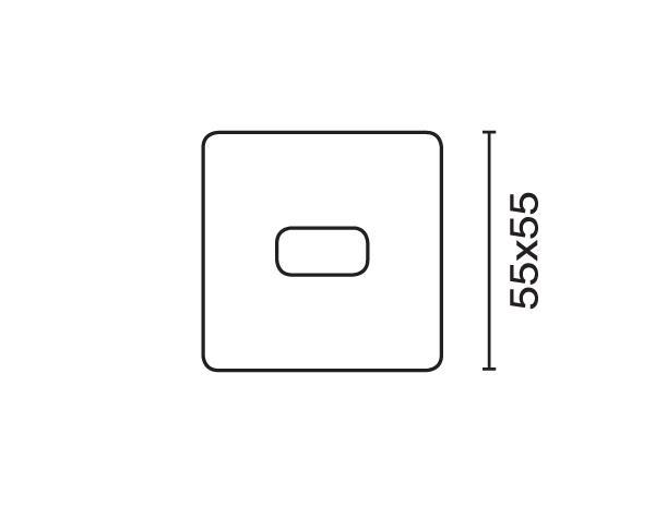 תאורה דגם אקיטה 1 - טכנולייט