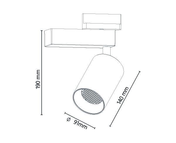 גוף תאורה פיקו 35 - טכנולייט