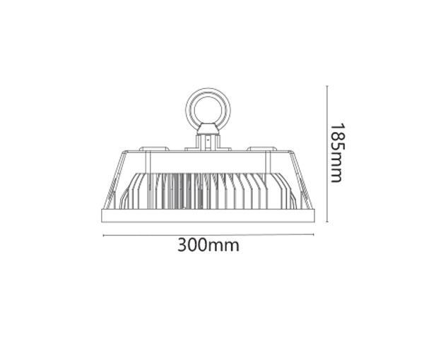 גוף תאורה קאפא 150 - טכנולייט