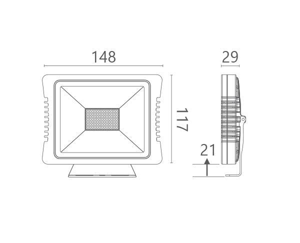 גוף תאורה אסטרו 20 - טכנולייט