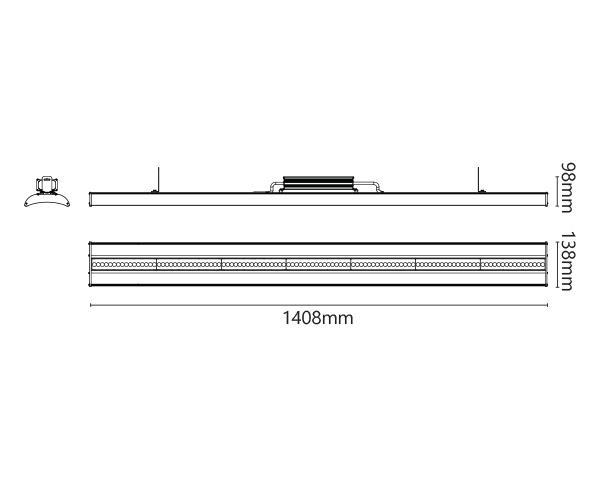 גוף תאורה אולטרה - טכנולייט