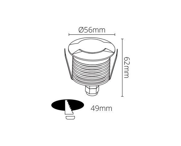 מנורת רצפה דגם טיגר 2 - טכנולייט