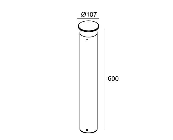 מנורת רצפה דגם קומארי 9 - טכנולייט