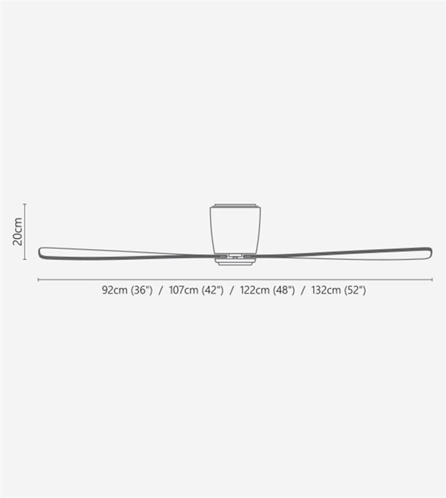 מאוורר טיטניום אייר 36 מייפל - Swingfans
