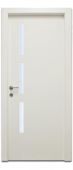 דלת ייחודית שלושה מלבנים - דלתות אלון