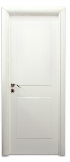 דלת 2 פאנל מחורץ - דלתות אלון