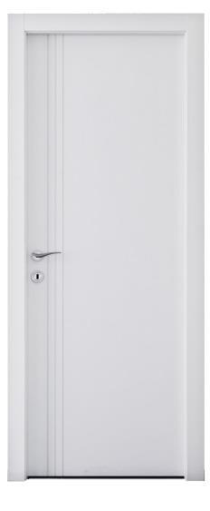 דלת 3 חריצים אורך - דלתות אלון