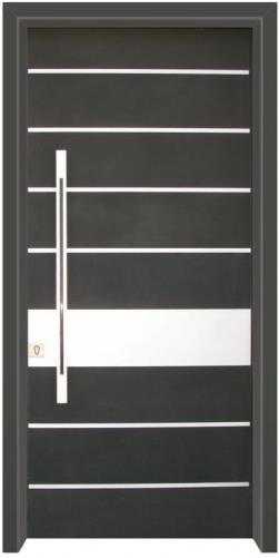 דלת כניסה מודרנית - דלתות אלון
