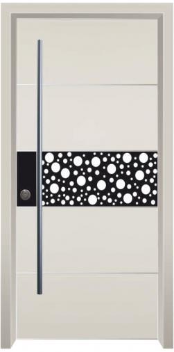 דלת כניסה הייטק נקודות - דלתות אלון