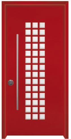 דלת פיניקס אדומה  - דלתות אלון
