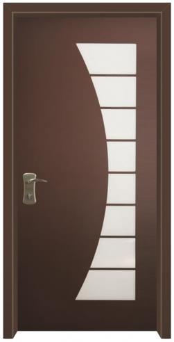 דלת כניסה חומה - דלתות אלון