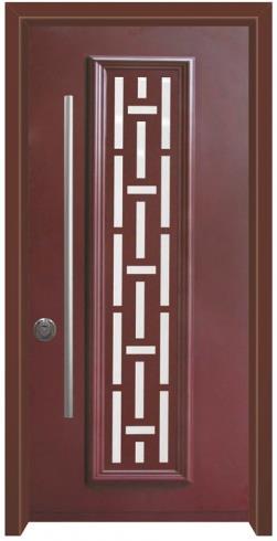 דלת מרקורי אדומה - דלתות אלון