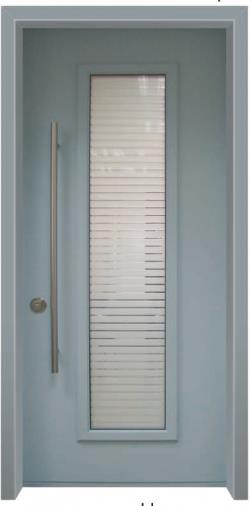 דלת כניסה מרקורי קלאסית - דלתות אלון