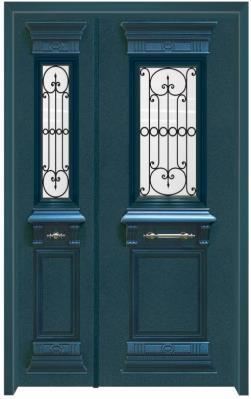 דלת כניסה אותנטית - דלתות אלון