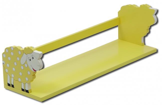 מדף צהוב כבשה - קוקולה