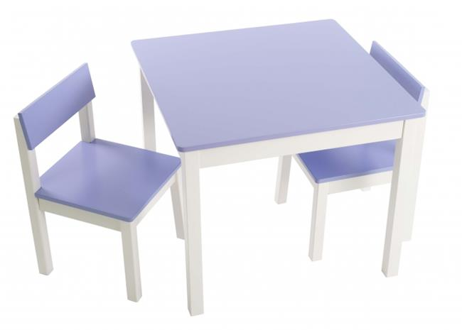 סט שולחן וכיסאות לילך - קוקולה