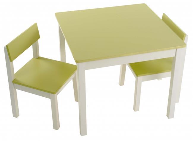 סט שולחן וכיסאות פיסטוק - קוקולה